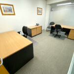 Interior photos of bayside office suite 37