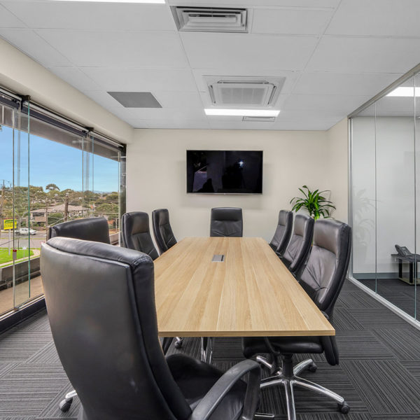 Interior photos of meeting room waverley prestige serviced offices